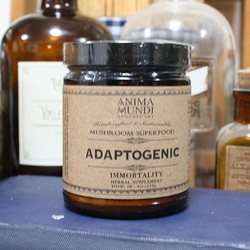 ADAPTOGENIC powder : 7 Mushrooms + Heirloom Cacao